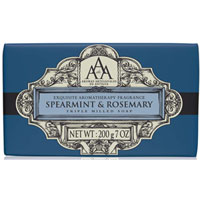 Aromas Artesanales de Antigua - Spearmint & Rosemary Triple Milled Soap