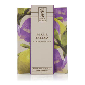 Earth Secrets - Scented Sachets - Pear & Freesia
