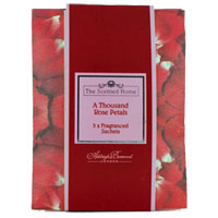 Ashleigh & Burwood The Scented Home - Fragranced Sachets - A Thousand Rose Petals