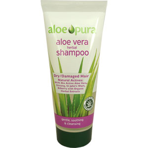 Aloe Pura - Aloe Vera Herbal Shampoo - Dry/Damaged Hair
