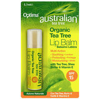 Organic Tea Tree Lip Balm - SPF 18|3.4900|2.8000