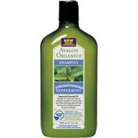Avalon Organics - Peppermint Strengthening Shampoo