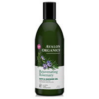 Avalon Organics - Rejuvenating  Rosemary Bath & Shower Gel
