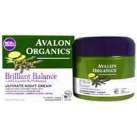 Avalon Organics - Brilliant Balance Ultimate Night Cream