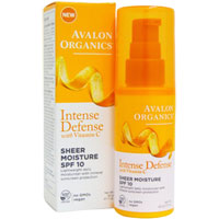 Avalon Organics - Sheer Moisturiser SPF10 with Vitamin C