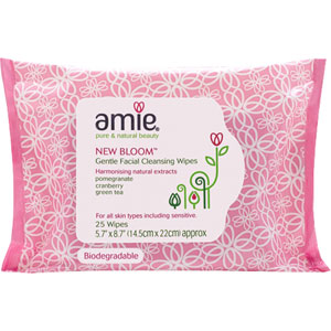 Amie - New Bloom Gentle Facial Cleansing Wipes