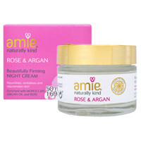 Amie - Rose & Argan Beautifully Firming Night Cream