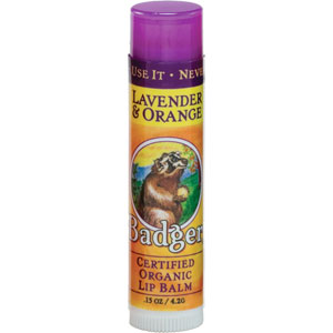 Badger - Lavender & Orange Lip Balm