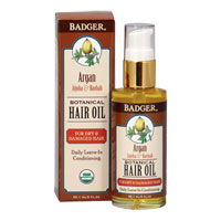 Badger - Argan, Jojoba & Baobab Botanical Hair Oil