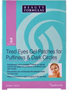 Beauty Formulas - Tired Eyes Gel Patches for Puffiness & Dark Circle