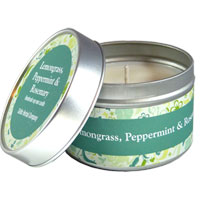 Celtic Herbal - Lemongrass, Peppermint & Rosemary Candle