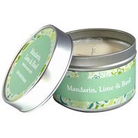 Celtic Herbal - Mandarin, Lime & Basil Candle