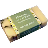 Celtic Herbal - Mandarin, Lime & Basil Soap