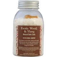 Celtic Herbal - Exotic Woods & Ylang Natural Bath Salts