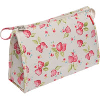 Danielle Creations - Strawberries and Cream Travel Bag
