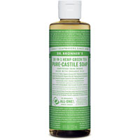 18-in-1 Hemp Green Tea Pure Castile Soap|7.6900|7.6900