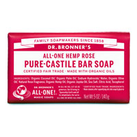 All-One Hemp Pure-Castile Bar Soap - Rose|4.9900|4.4900