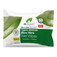 Dr.Organic - Organic Aloe Vera Wet Wipes