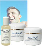 David Hill for Men - Shaving & Skin Care Set