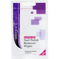 Elegant Touch - Acetone Free Nail Polish Remover Wipes