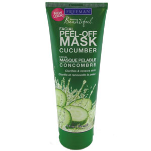 Think, that cucumber facial peel you