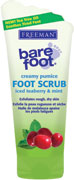 Freeman Bare Foot - Iced Teaberry & Mint Creamy Pumice Foot Scrub