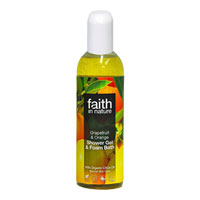 Faith In Nature - Grapefruit & Orange Shower Gel & Foam Bath