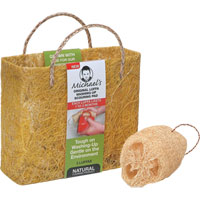 Michael's - Original Luffa Scouring Pads & Hemp Bag