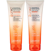 Giovanni - Tangerine & Papaya Butter Ultra Volume Duo