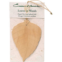 Encens d'Auroville - Leaves in Woods - Peepal Leaf