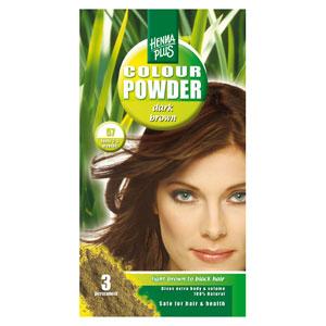 Beauty Naturals Hennaplus Colour Powder Dark Brown 57