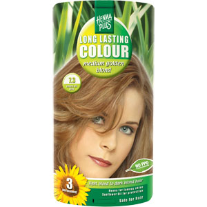 HennaPlus - Long Lasting Colour - Medium Golden Blond 7.3