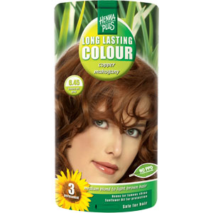 HennaPlus - Long Lasting Colour - Copper Mahogany 6.45
