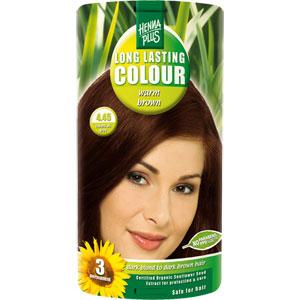 Hennaplus Long Lasting Colour Warm Brown 4 45