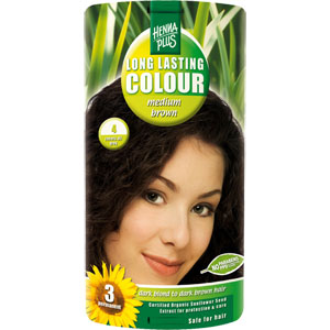 HennaPlus - Long Lasting Colour - Medium Brown 4