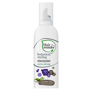 Hairwonder - Botanical Styling Mousse - Extra Strong
