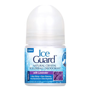 Ice Guard - Natural Crystal Rollerball Deodorant - Lavender