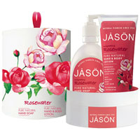 Jason - Invigorating Rosewater Gift Set