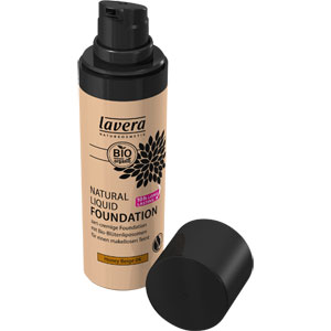 Lavera - Natural Liquid Foundation - Honey Beige
