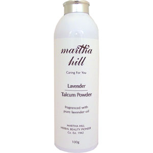 Martha Hill - Lavender Talcum Powder