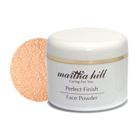 Martha Hill - Perfect Finish Face Powder - Rose Beige