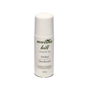 Martha Hill - Herbal Deodorant/Anti-Perspirant