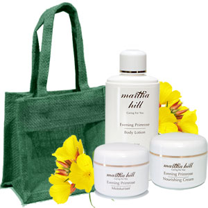 Martha Hill - Evening Primrose Face & Body Care Trio