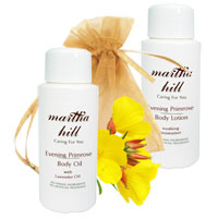 Martha Hill - Evening Primrose Body Care Sampler (with Organza Bag)