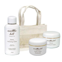 Martha Hill - Honey Skin Care Trio (with Jute Bag)