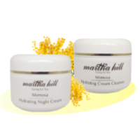 Martha Hill - Mimosa Hydrating Cleanser & Night Duo