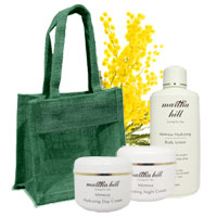 Martha Hill - Mimosa Hydrating Face & Body Trio