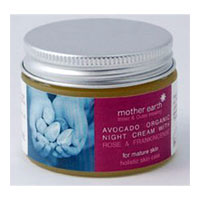 Mother Earth - Avocado Organic Night Cream