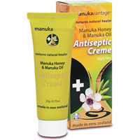 ManukaVantage - Manuka Honey & Manuka Oil Antiseptic Creme