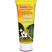 ManukaVantage - Manuka Honey & Manuka Oil Hand Creme